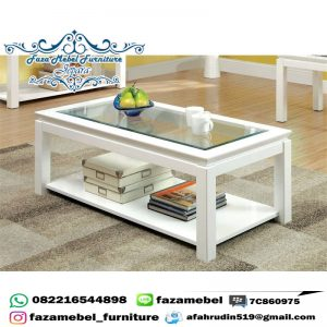 Meja Tamu Minimalis Coffe Table Terbaru