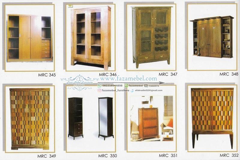 Gambar-Lemari-Jati-Model-Minimalis-345-352-terbaru