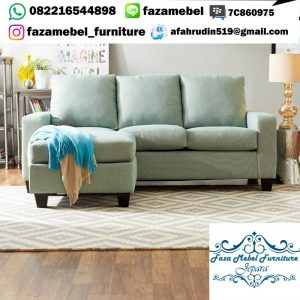 Kursi Tamu Sofa Sudut Minimalis Terbaru