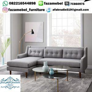 Kursi Tamu Sofa Sudut Scandinavian Terbaru