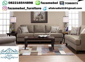 Satu Set Kursi Tamu Sofa Bandung Terbaru