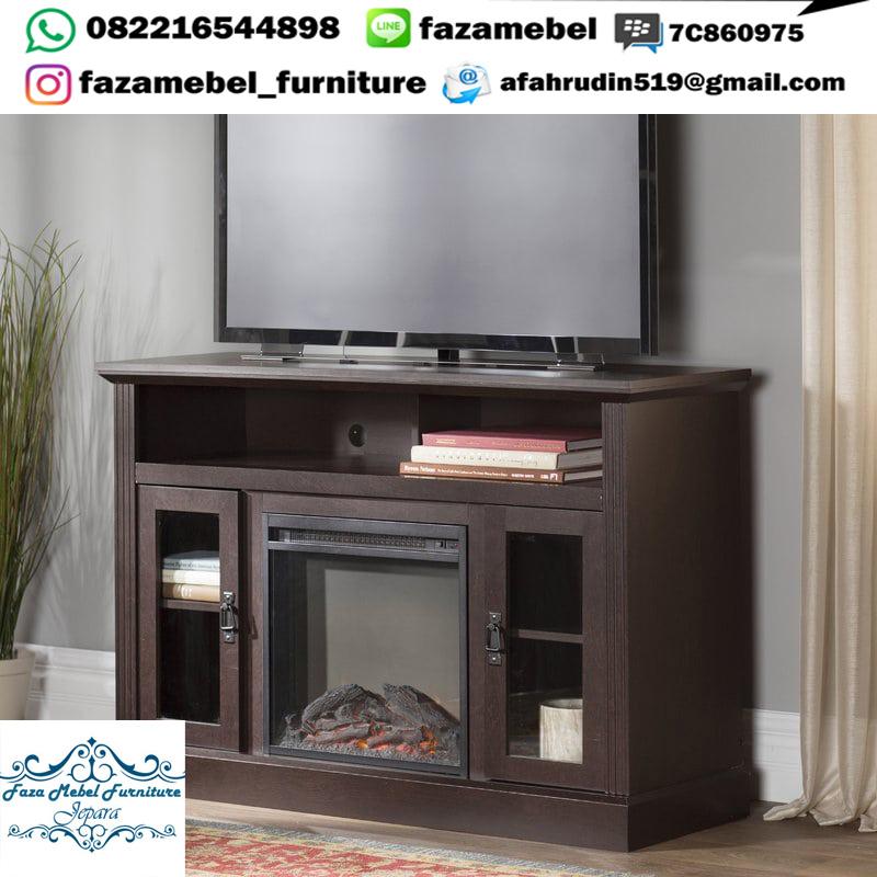 Bufet-TV-Kayu-Jati-Minimalis