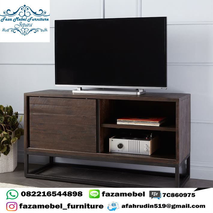 Meja-TV-Industrial-Minimalis-Modern