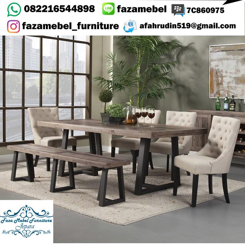 set-meja-makan-antik-kaki-besi-mewah (1)