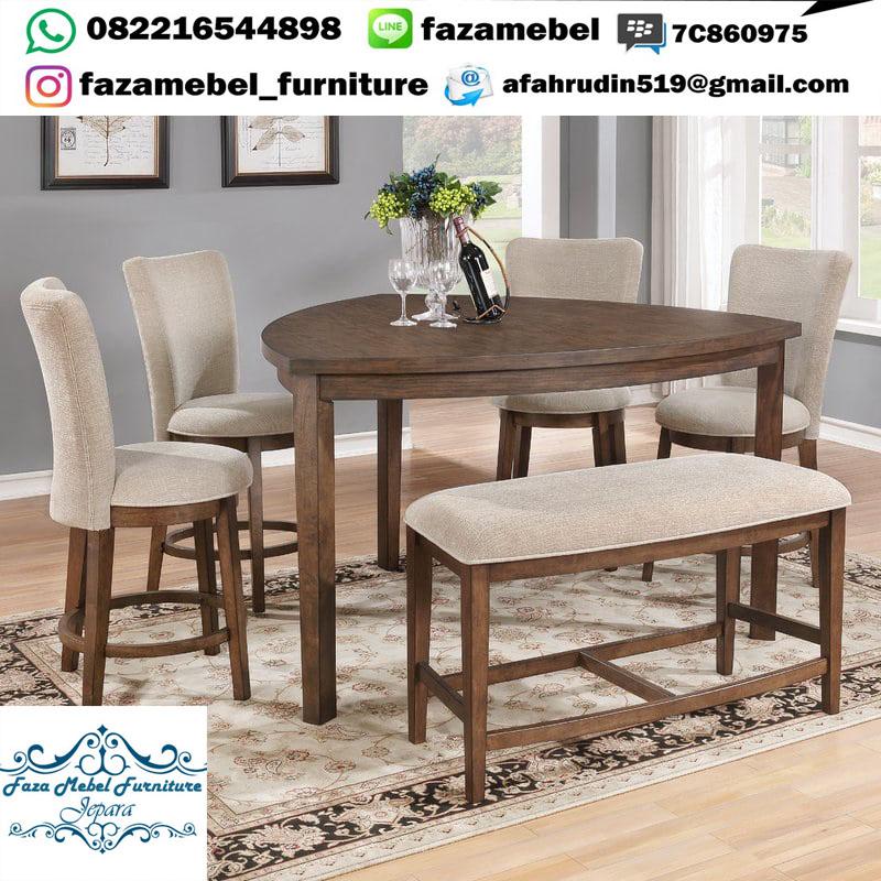 set-meja-makan-unik-kursi-sofa