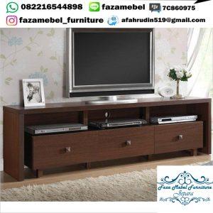 Bufet Tv Panjang Minimalis Elegant