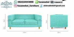 Set Kursi Sofa Tamu Taby 2+1