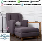 Sofa Toril Armchair & Ottoman Set