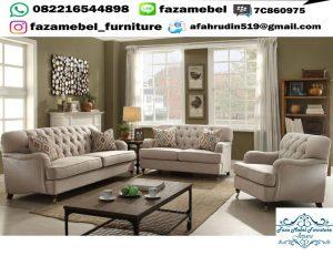 Kursi Tamu Sofa Mewah Elegant Terbaru