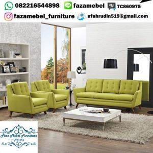 Satu Set Kursi Tamu Sofa Modern Terbaru